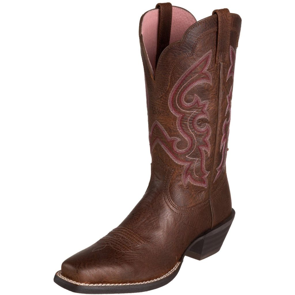 Ariat Pink Cowboy Boot The Crafty Ninja