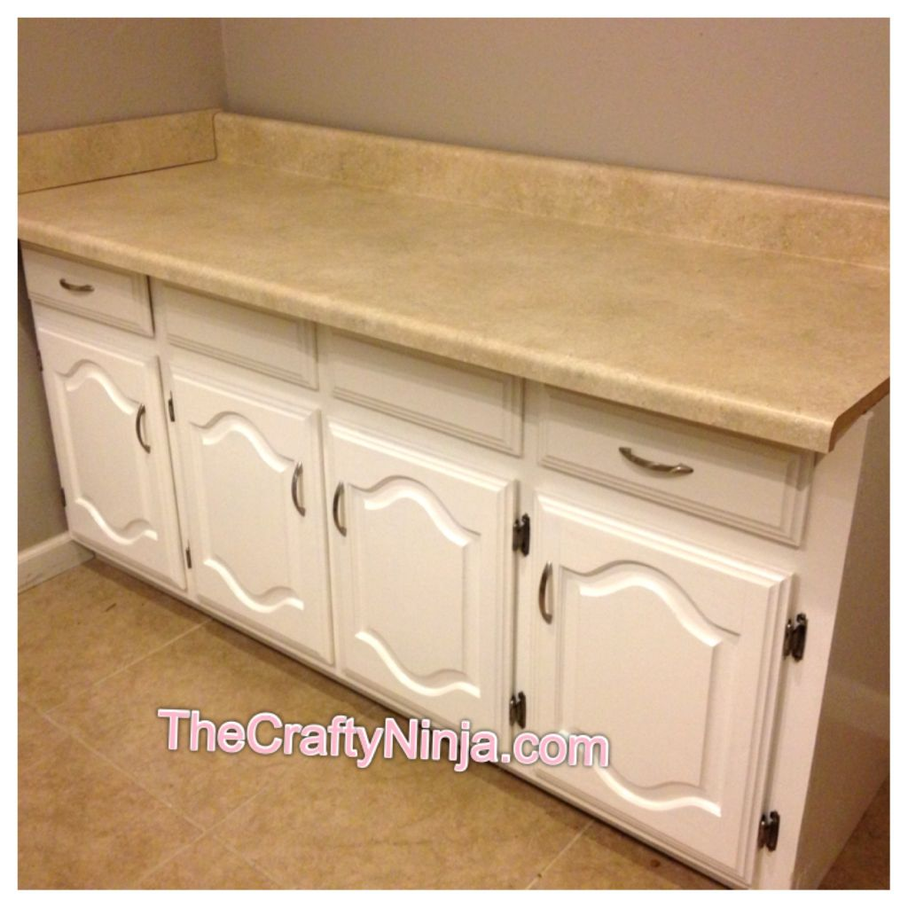How To Refinish Cabinets With Oil Based Paint The Crafty
