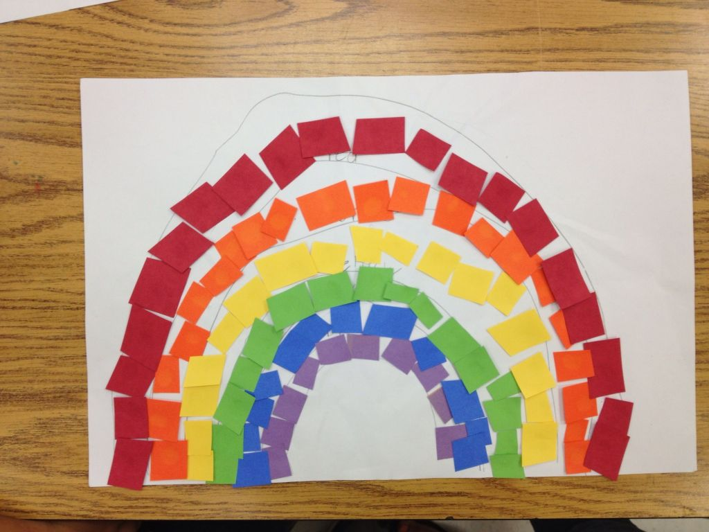 Primary And Secondary Colors Rainbow Collage The Crafty Ninja