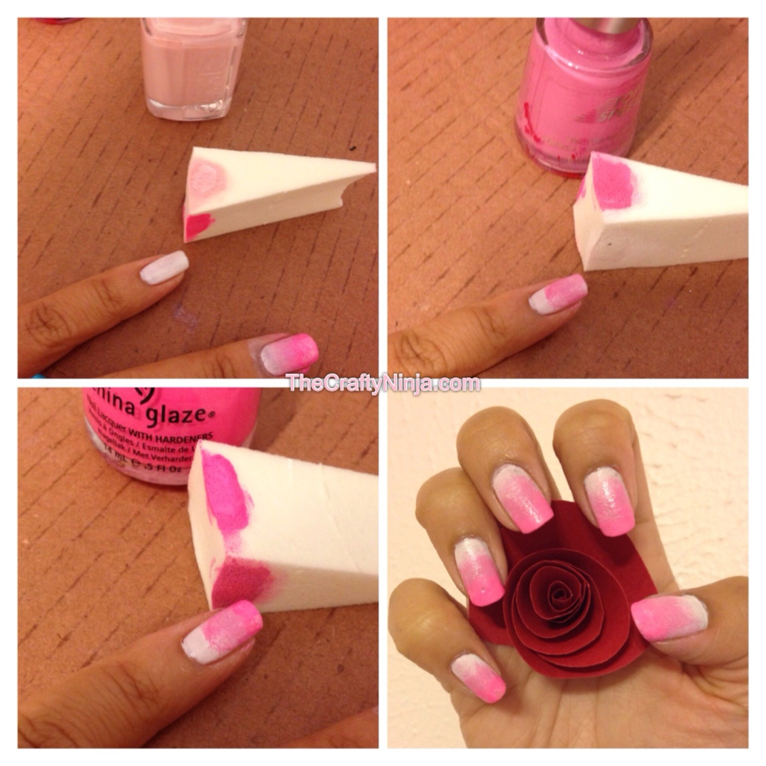 How To Do Ombre Nail Polish: Trendy Girl NYC: Nail Trend: Ombre Nails