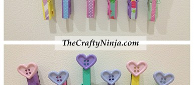 button clothespins