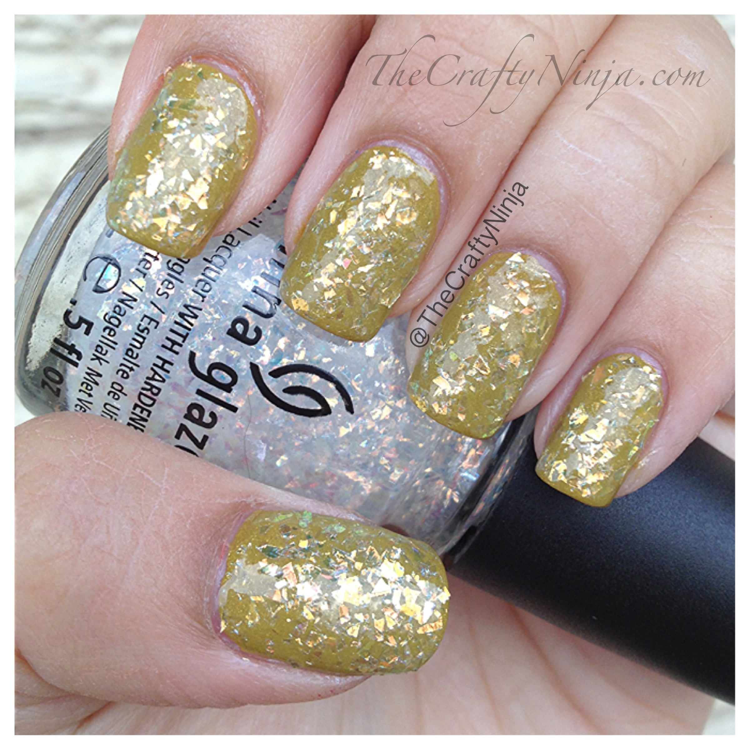 China Glaze Trendsetter and Luxe and Lush | The Crafty Ninja