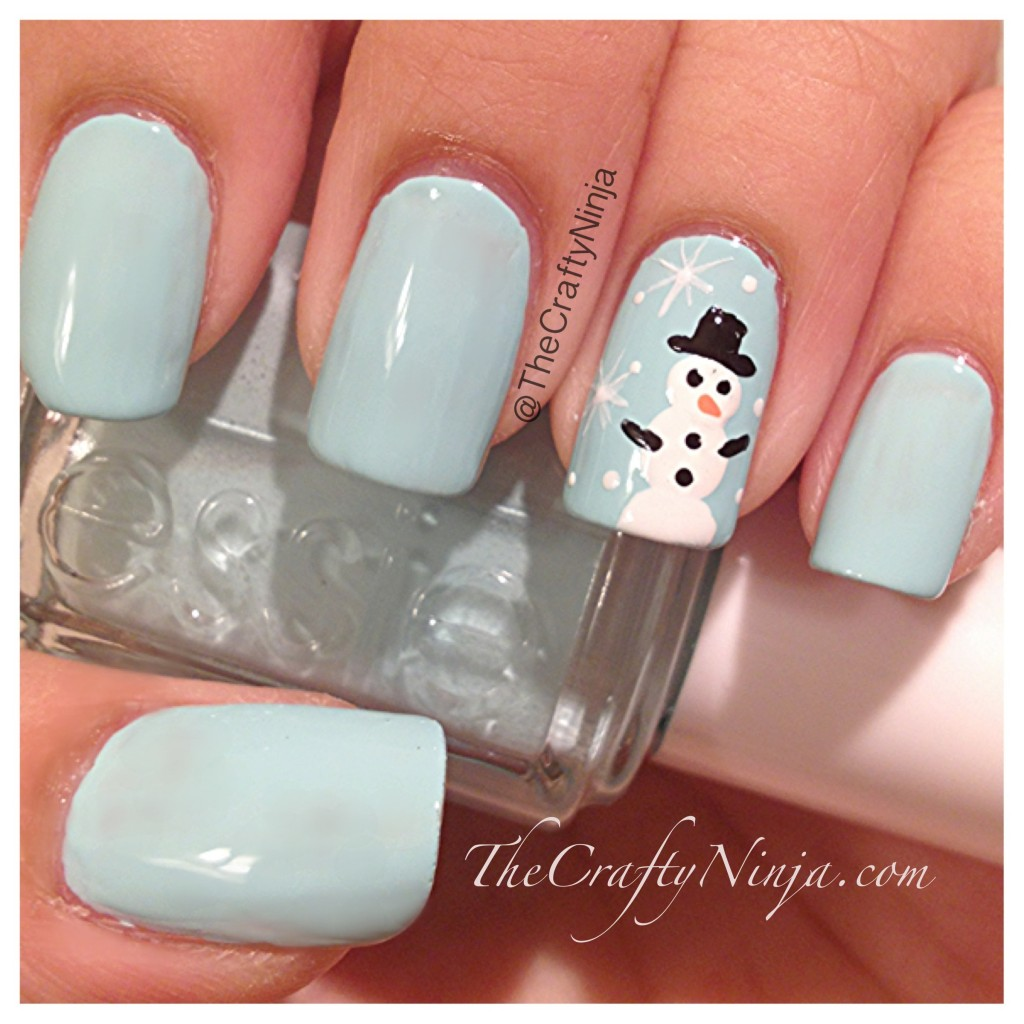 Sparkle Queen: Christmas and Winter Nail Art {Ideas and Inspiration