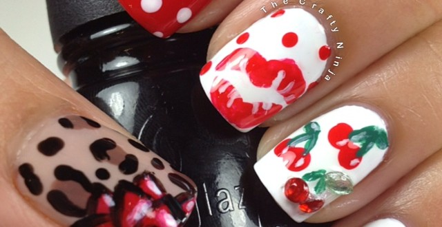 pin up style nails