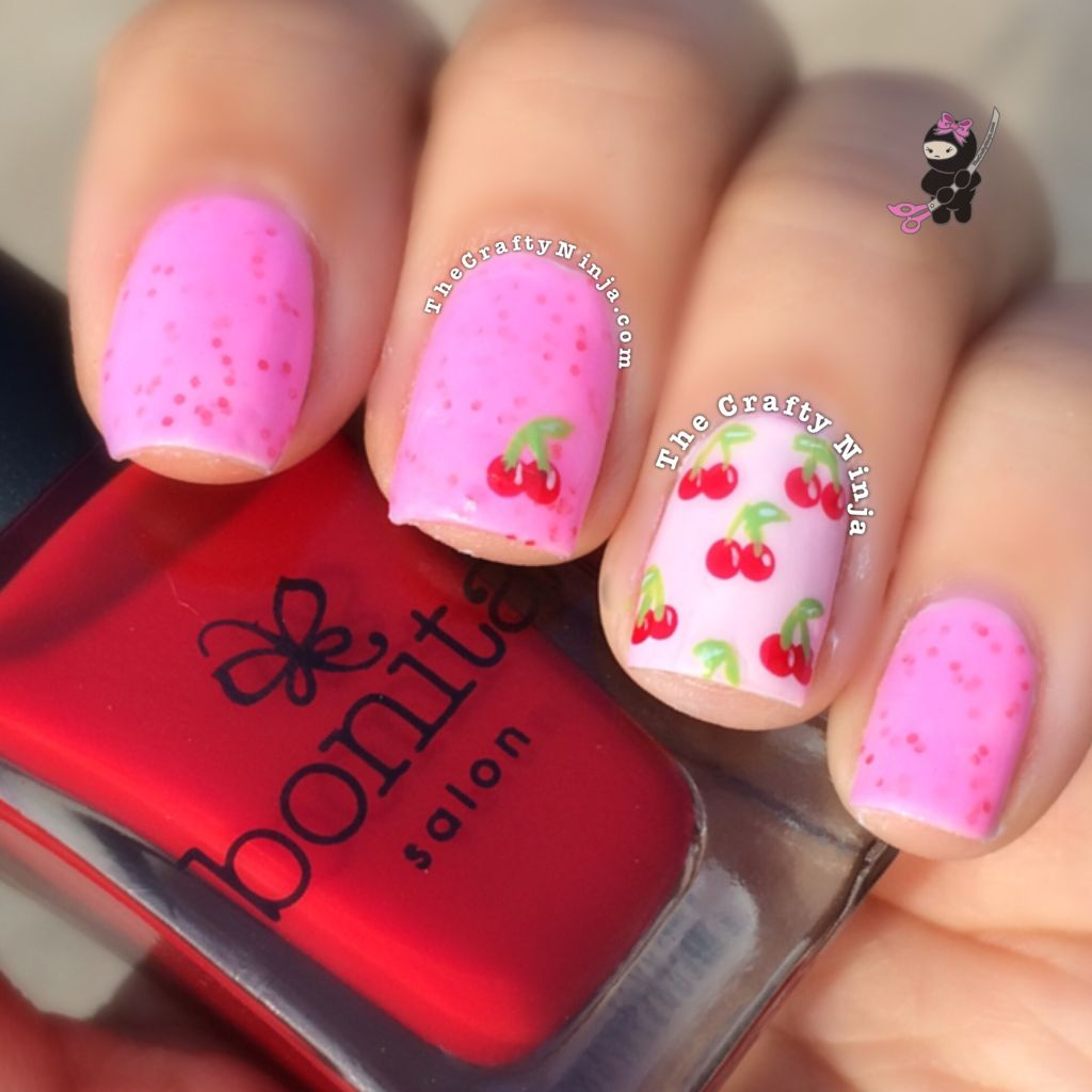 - Cherry Pop Nails The Crafty Ninja